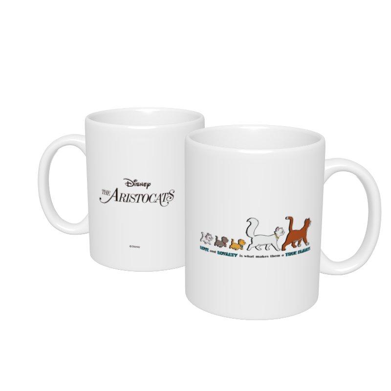 【D-Made】マグカップ  おしゃれキャット マリー&トゥルーズ&ベルリオーズ&ダッチェス&トーマス・オマリー TRUE FAMILY