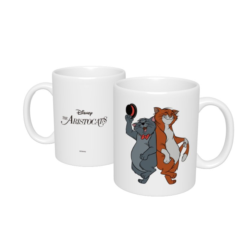 【D-Made】マグカップ  おしゃれキャット トーマス・オマリー&ジャズ猫 ペア