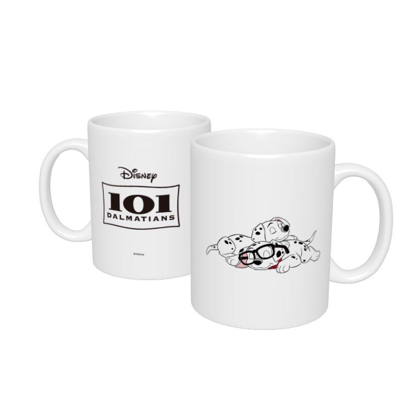【D-Made】マグカップ  101匹わんちゃん メガネ お昼寝