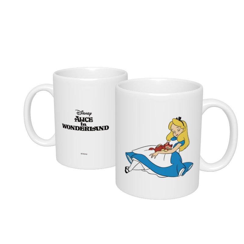【D-Made】マグカップ  ふしぎの国のアリス アリス&ダイナ うたた寝
