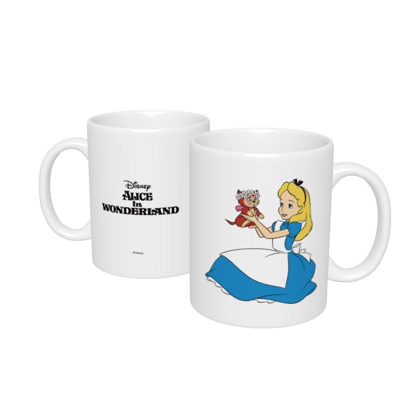 【D-Made】マグカップ  ふしぎの国のアリス アリス&ダイナ 抱っこ 花冠