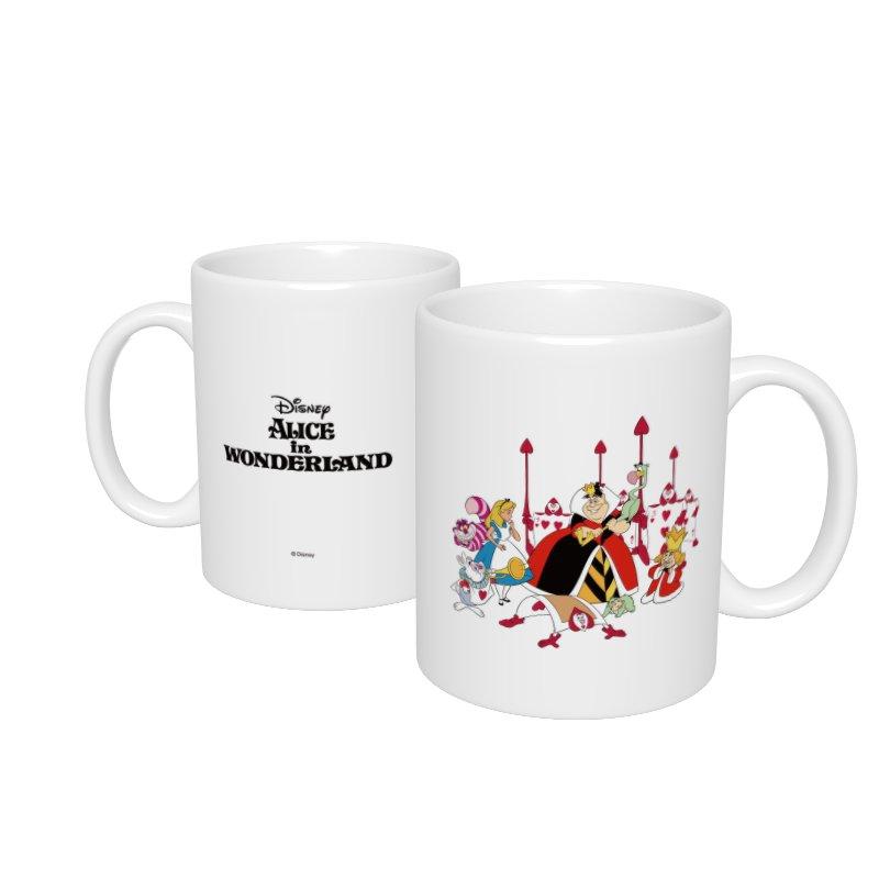 【D-Made】マグカップ  ふしぎの国のアリス アリス&ハートの女王&白うさぎ&チェシャ猫&トランプ兵&王様