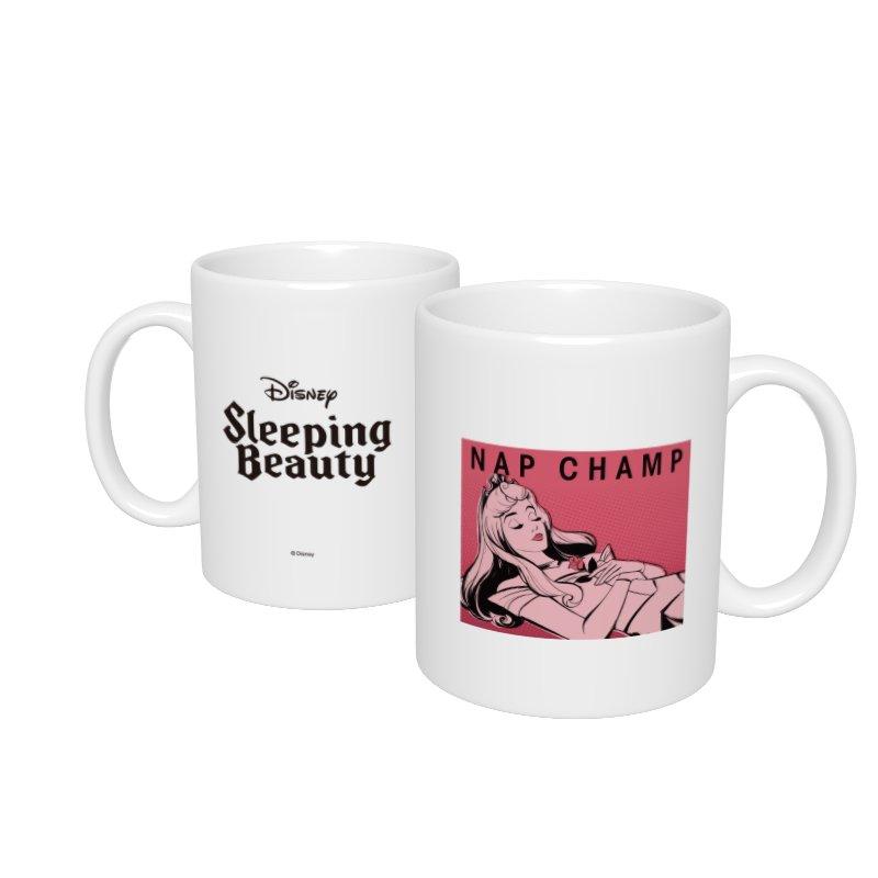 【D-Made】マグカップ  眠れる森の美女 オーロラ姫 NAP CHAMP