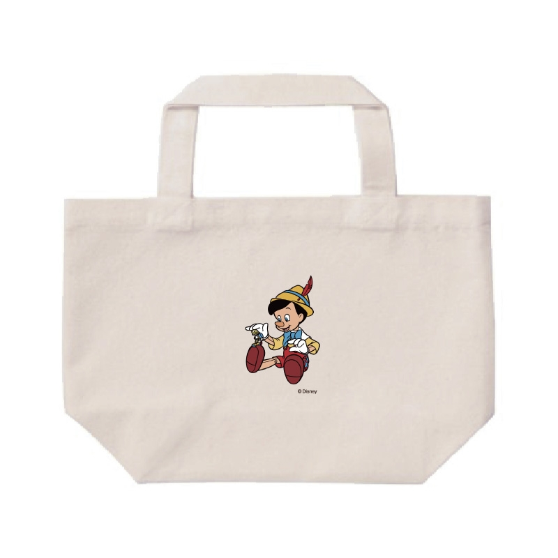 【D-Made】ミニトートバッグ  ピノキオ ピノキオ&ジミニー・クリケット