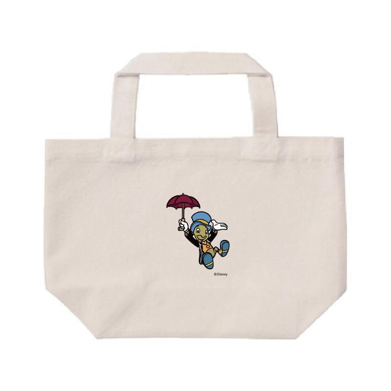 【D-Made】ミニトートバッグ  ピノキオ ジミニー・クリケット 傘