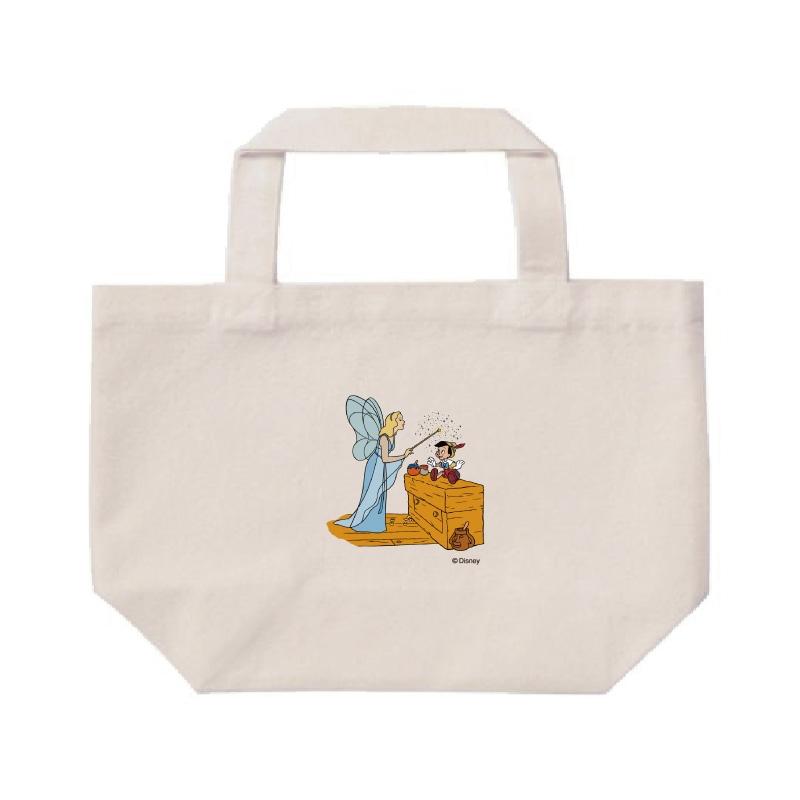 【D-Made】ミニトートバッグ  ピノキオ ピノキオ&ブルー・フェアリー