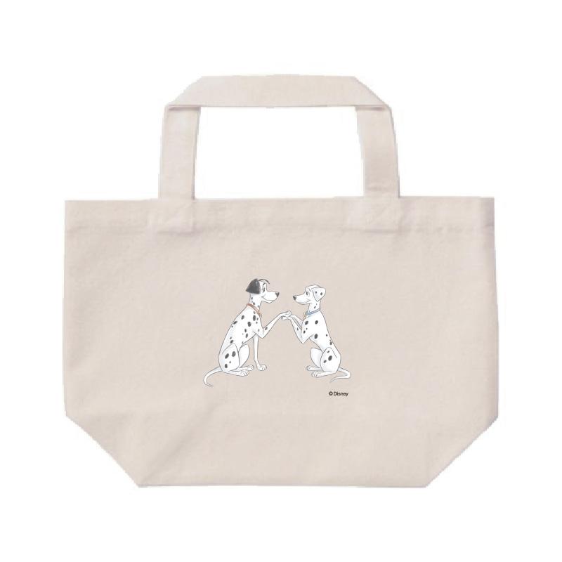 【D-Made】ミニトートバッグ  101匹わんちゃん ポンゴ&パディータ ペア