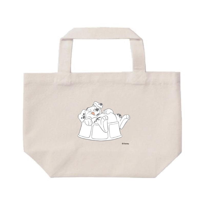 【D-Made】ミニトートバッグ  101匹わんちゃん ローリー 満腹