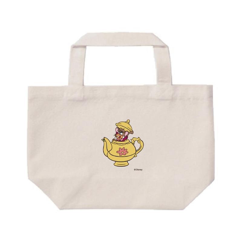 【D-Made】ミニトートバッグ  ふしぎの国のアリス ドーマウス ティーポット