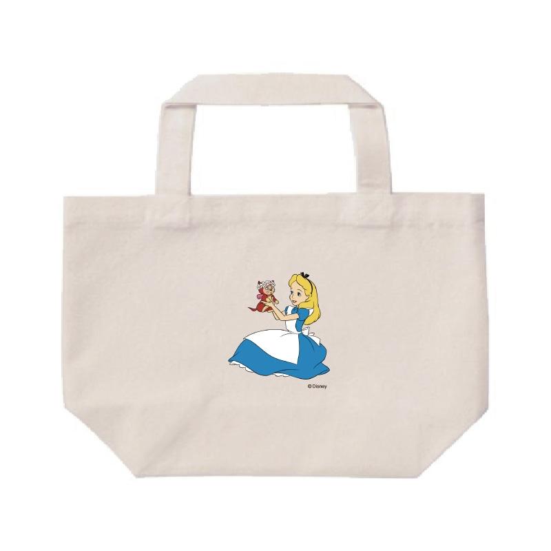 【D-Made】ミニトートバッグ  ふしぎの国のアリス アリス&ダイナ 抱っこ 花冠