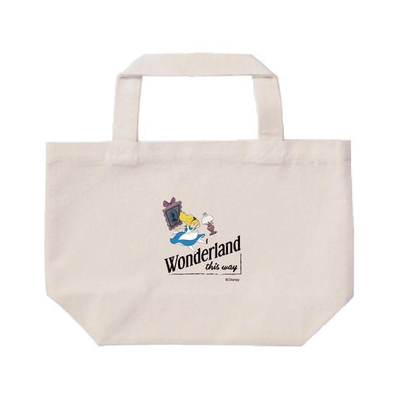【D-Made】ミニトートバッグ  ふしぎの国のアリス Wonderland this way