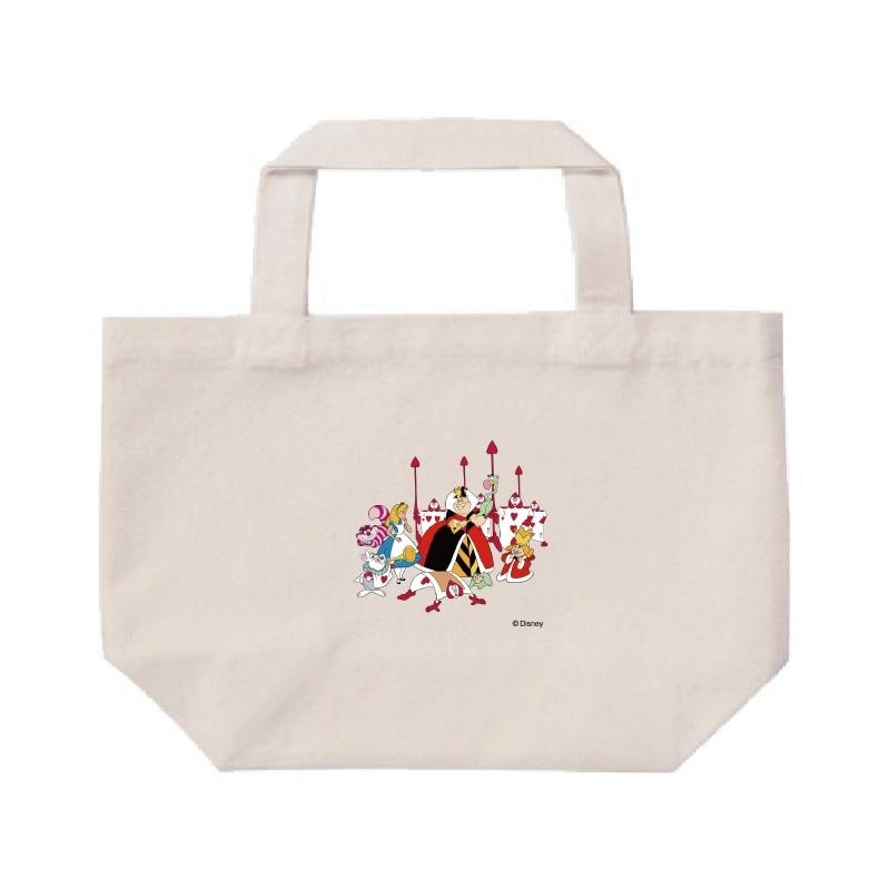 【D-Made】ミニトートバッグ  ふしぎの国のアリス アリス&ハートの女王&白うさぎ&チェシャ猫&トランプ兵&王様