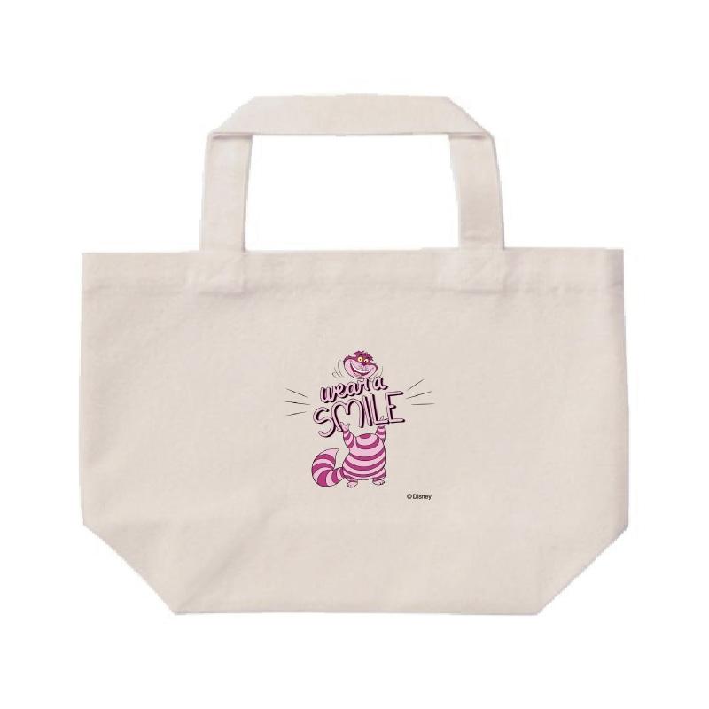 【D-Made】ミニトートバッグ  ふしぎの国のアリス チェシャ猫 wear a SMILE