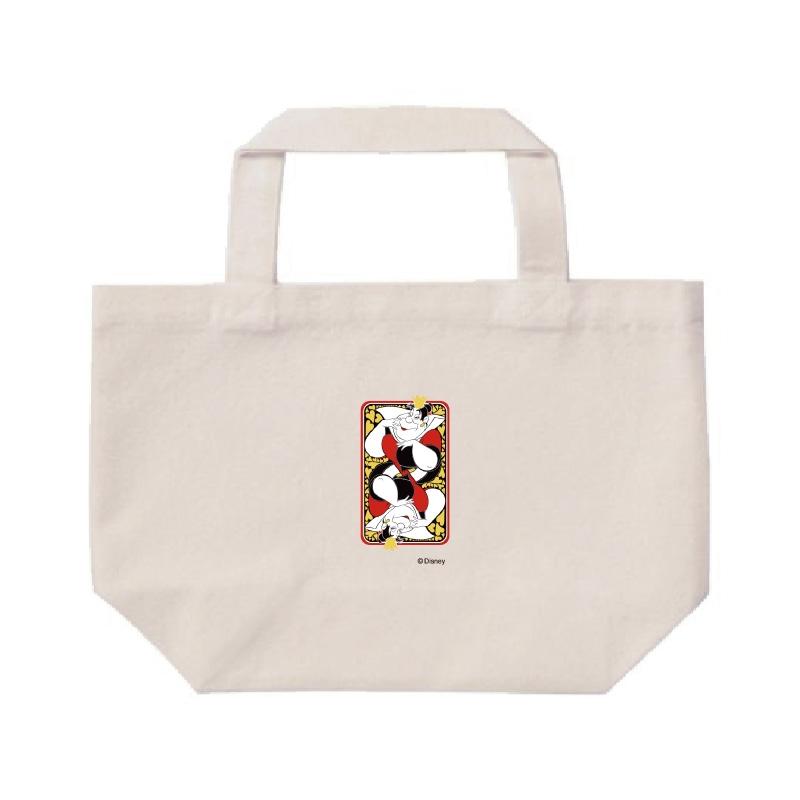 【D-Made】ミニトートバッグ  ふしぎの国のアリス ハートの女王 カード