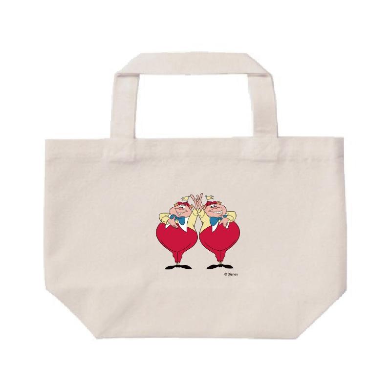 【D-Made】ミニトートバッグ  ふしぎの国のアリス 双子のディーとダム