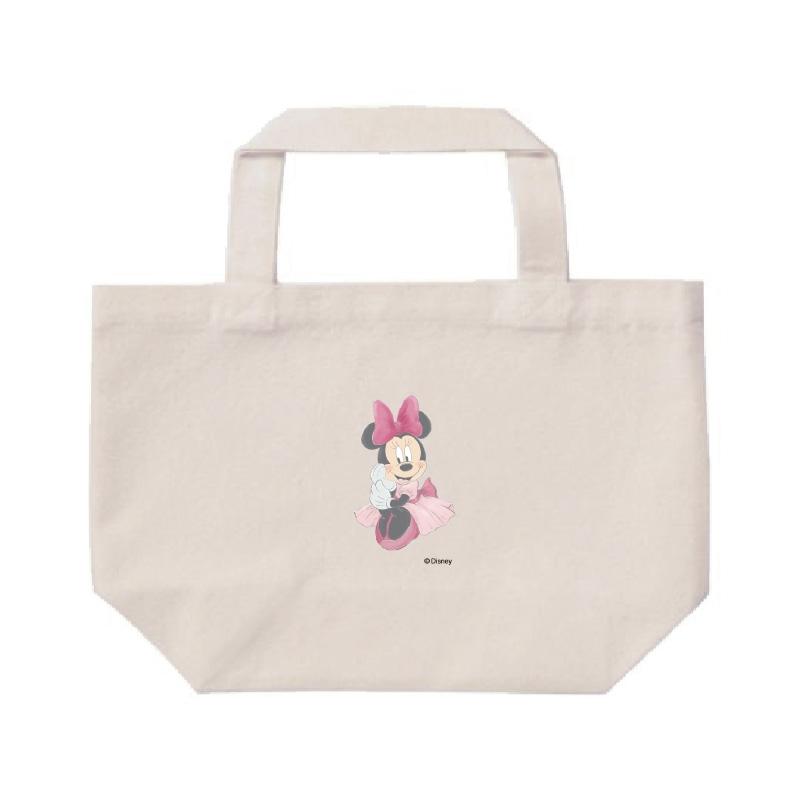【D-Made】ミニトートバッグ  ミニー ピンクドレス