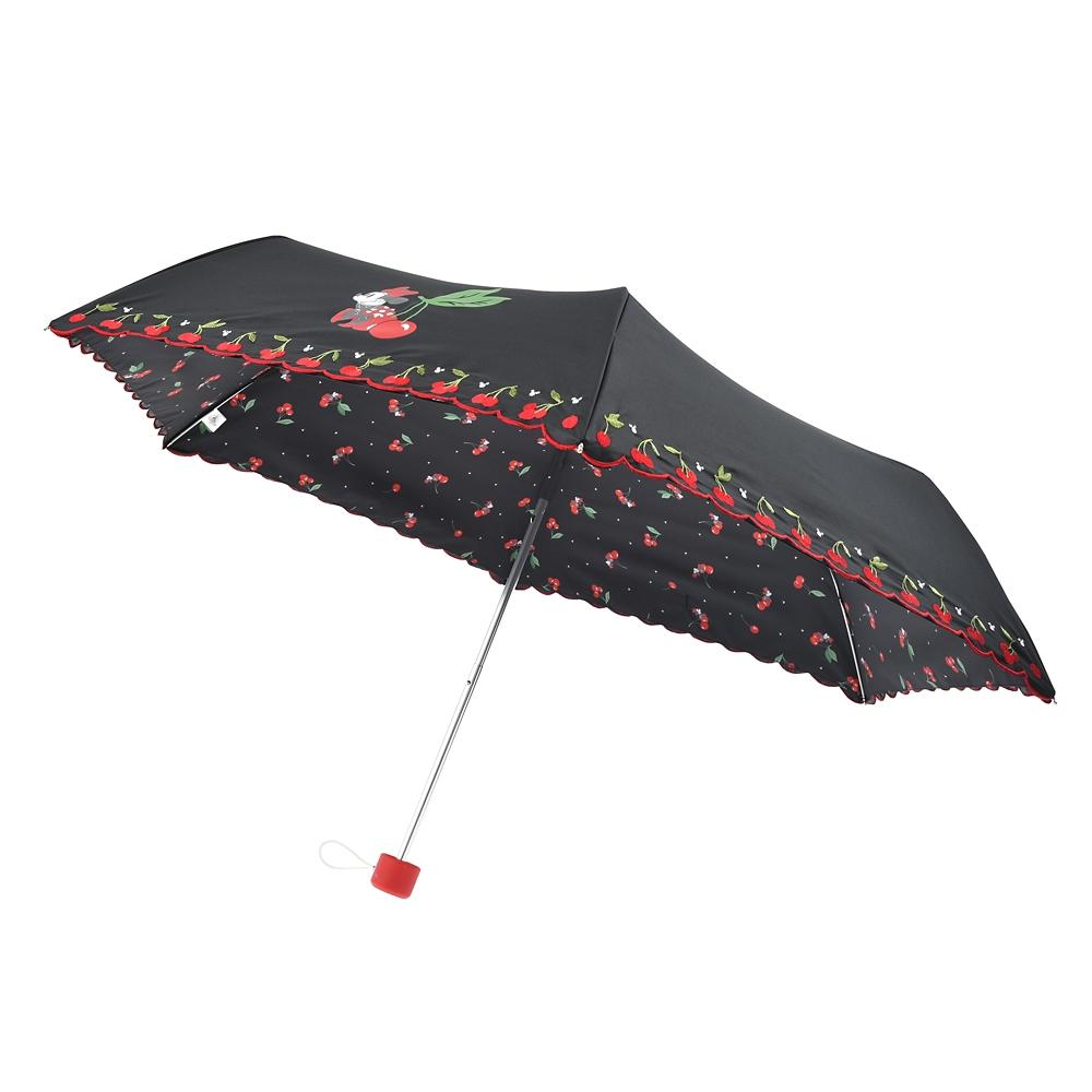 ミニー 日傘 折りたたみ式 CHERRY