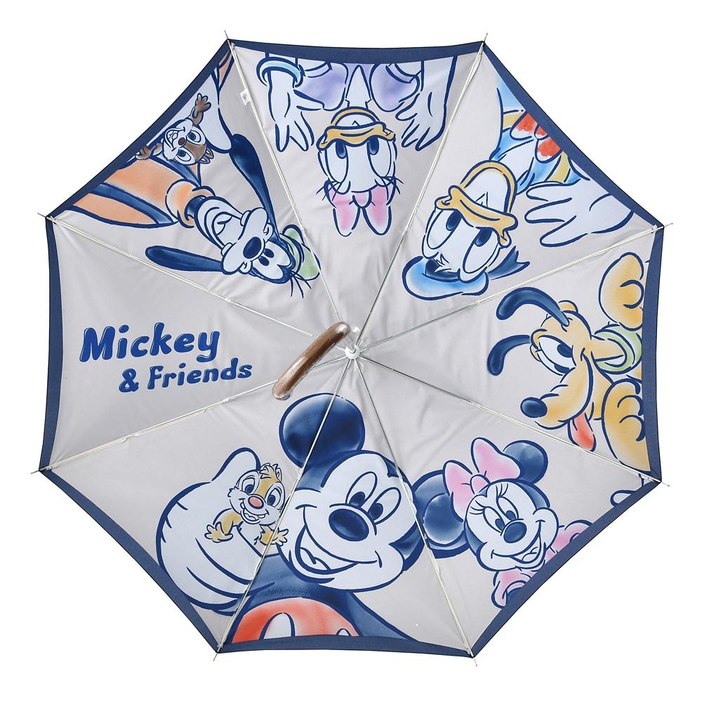 ミッキー&フレンズ 傘 ジャンプ式 Hi!