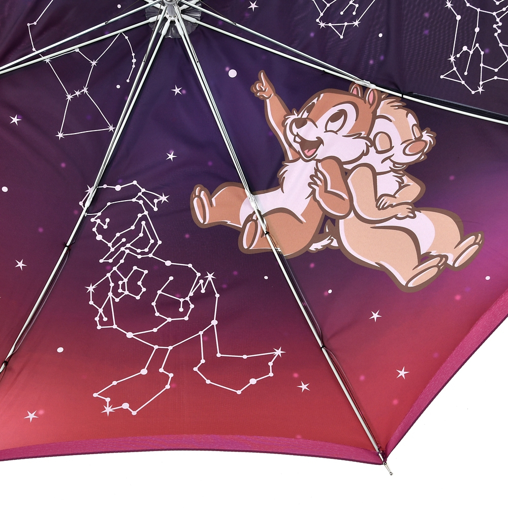 チップ&デール 傘 ジャンプ式 星座