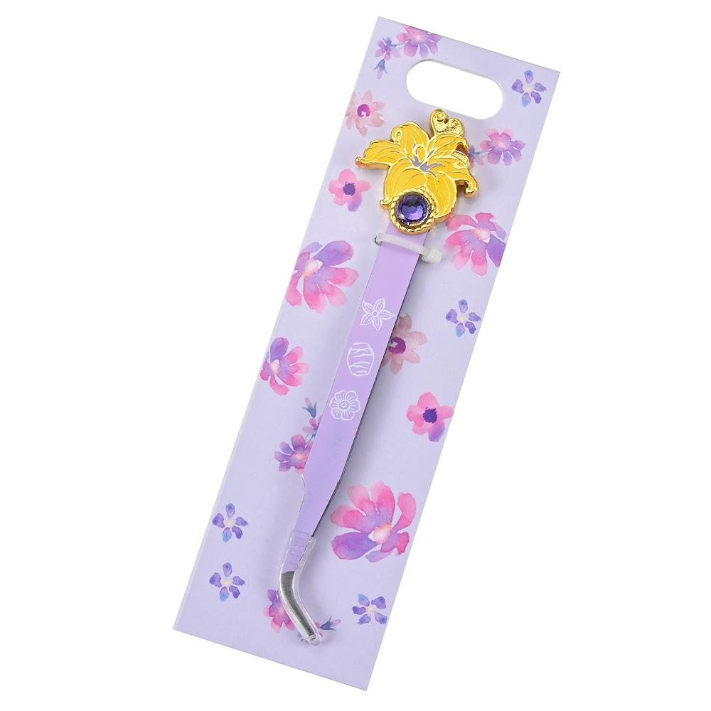 ラプンツェル ピンセット ネイル用 魔法の花 パープル