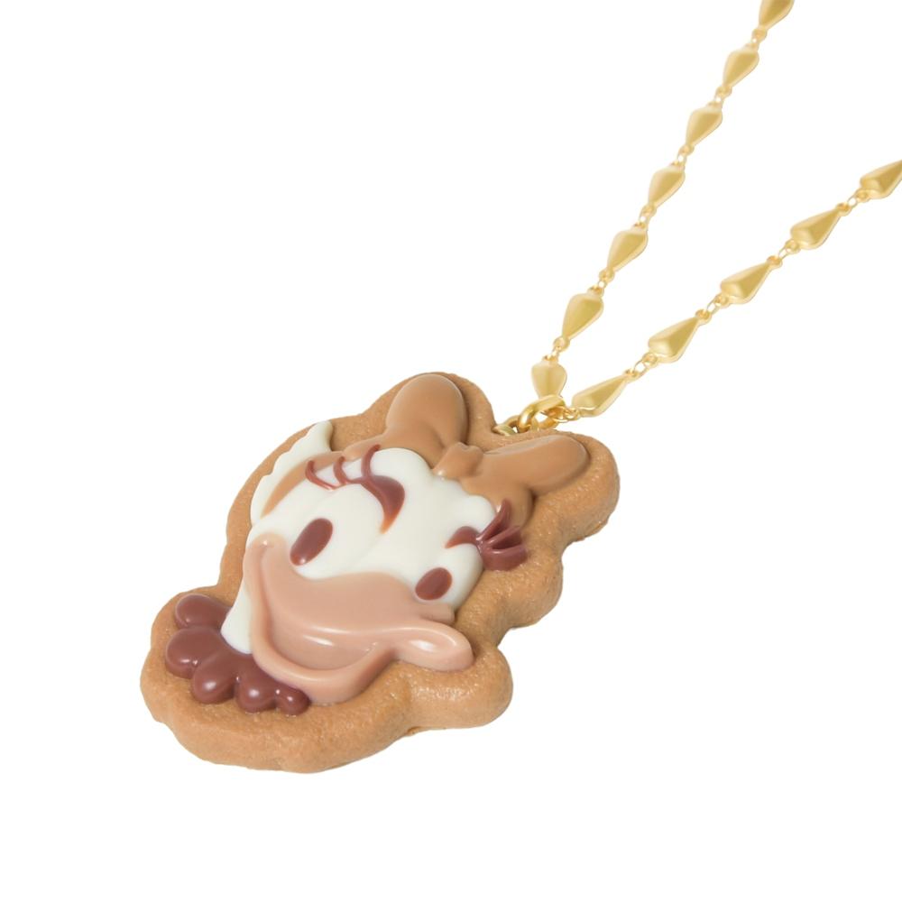 【キューポット】デイジーダック/ネックレス シュガークッキー