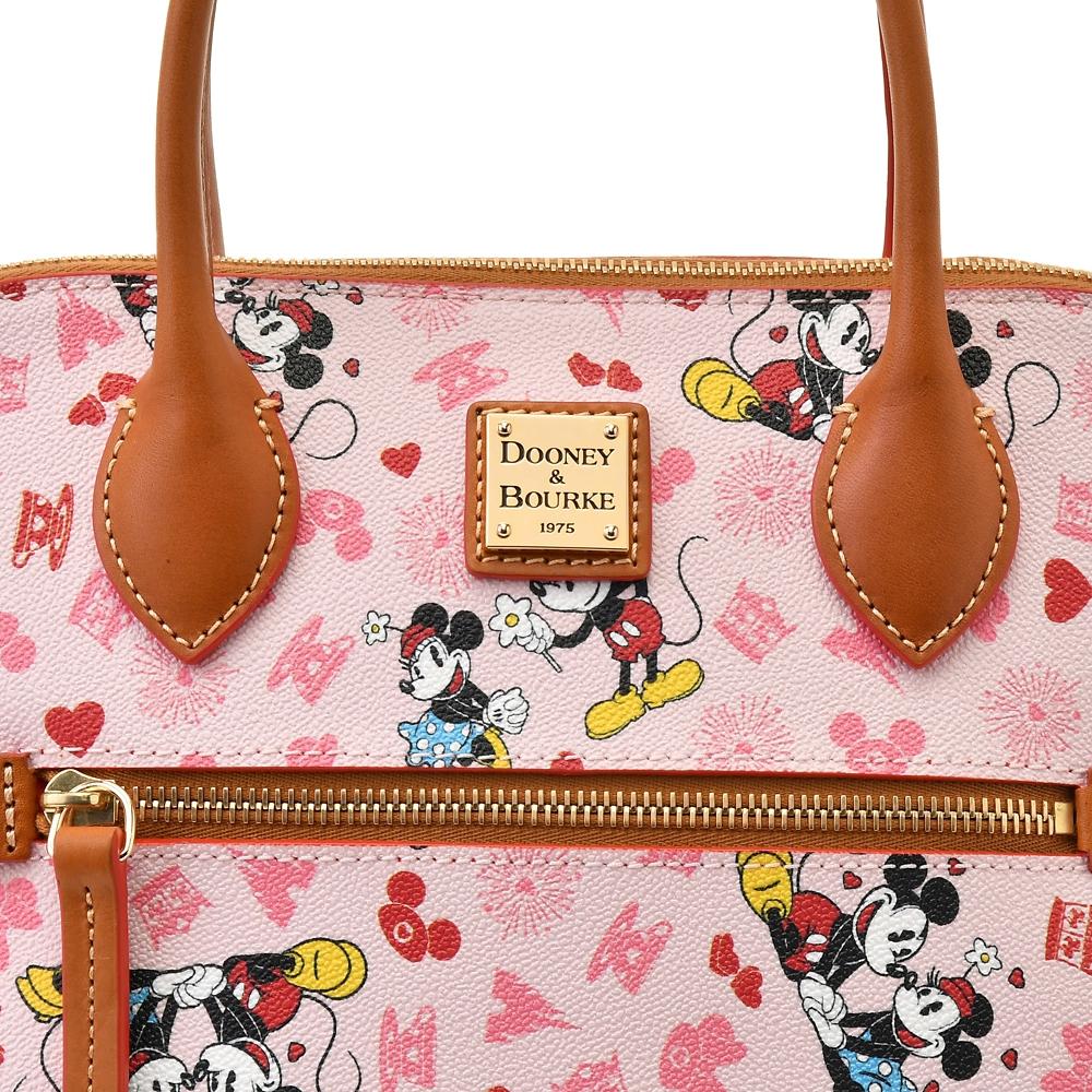 【送料無料】【Dooney & Bourke】ミッキー&ミニー サッチェルバッグ 2WAY Mickey & Minnie Love