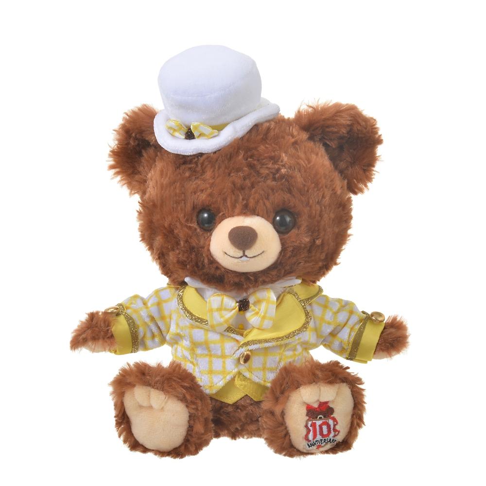 ユニベアシティ ぬいぐるみ専用コスチューム(SS) タキシード イエロー UniBEARsity 10th ANNIVERSARY