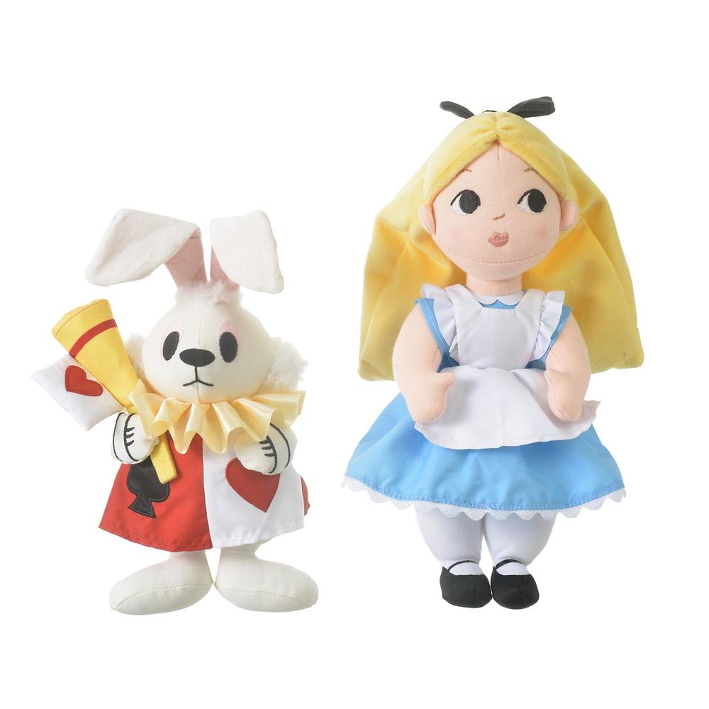 アリス&白うさぎ ぬいぐるみ Alice in Wonderland by Mary Blair
