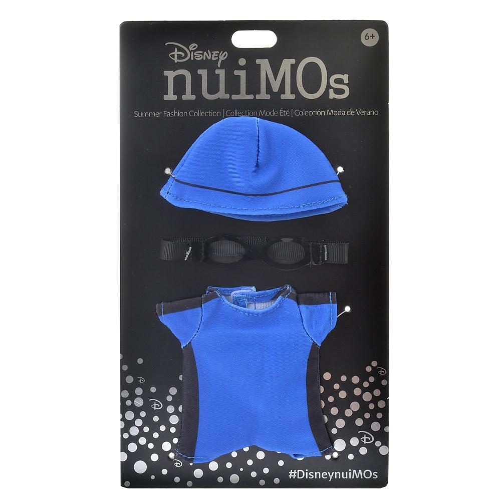 nuiMOs ぬいぐるみ専用コスチューム スイミングウェア ブルー SPORTS