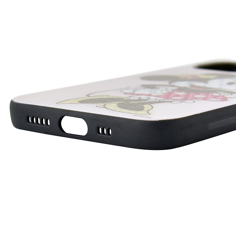 【キューポット】ミニー iPhone 12/12proケース