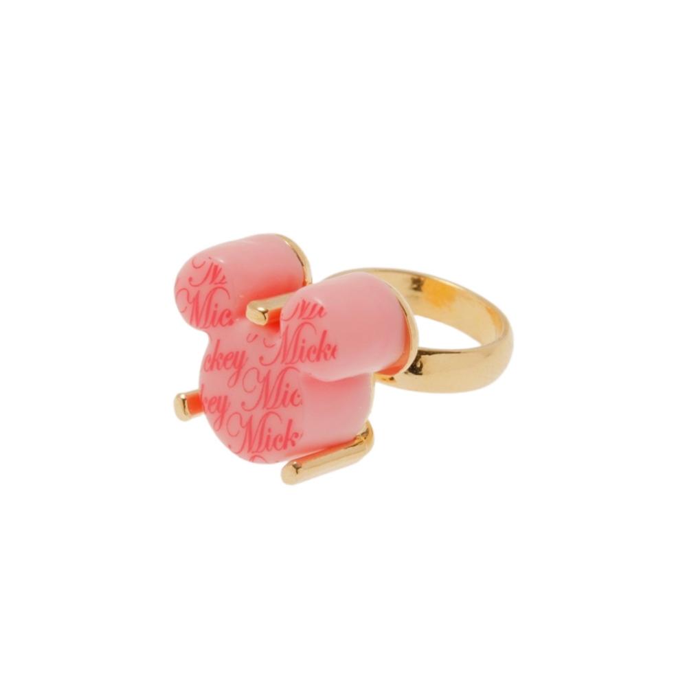 【キューポット】ミッキー/リング ショコラ(ピンク)