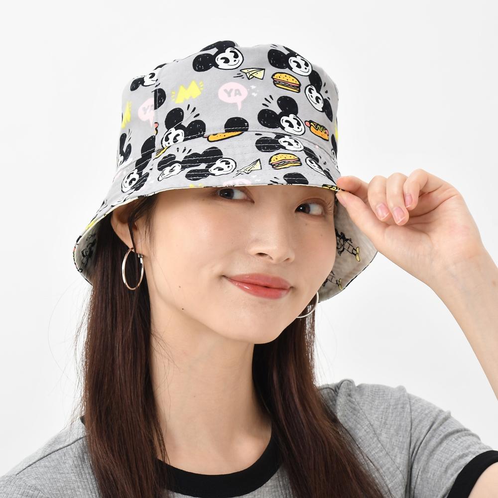 ミッキー 帽子・ハット リバーシブル Artist Series by Nanako Kanemitsu