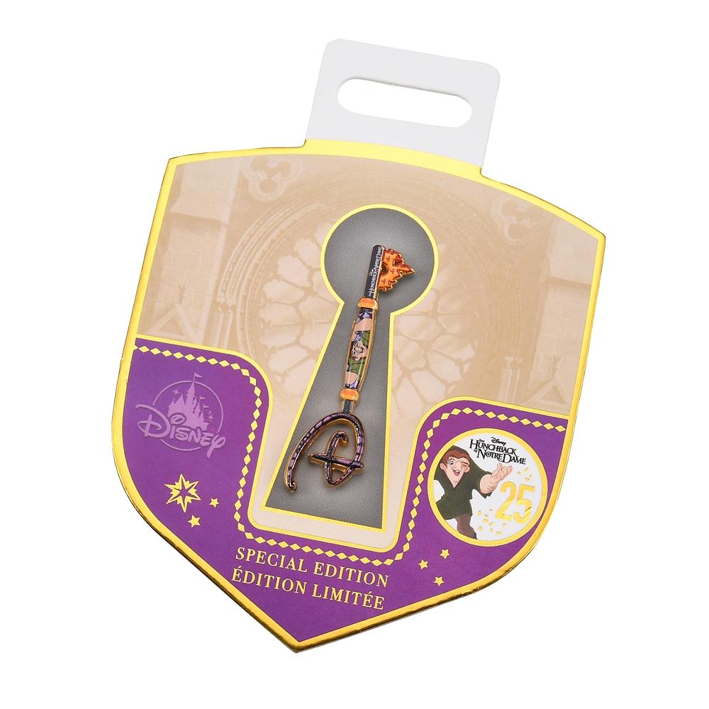 ノートルダムの鐘 ピンバッジ アニバーサリー コレクタブルキー