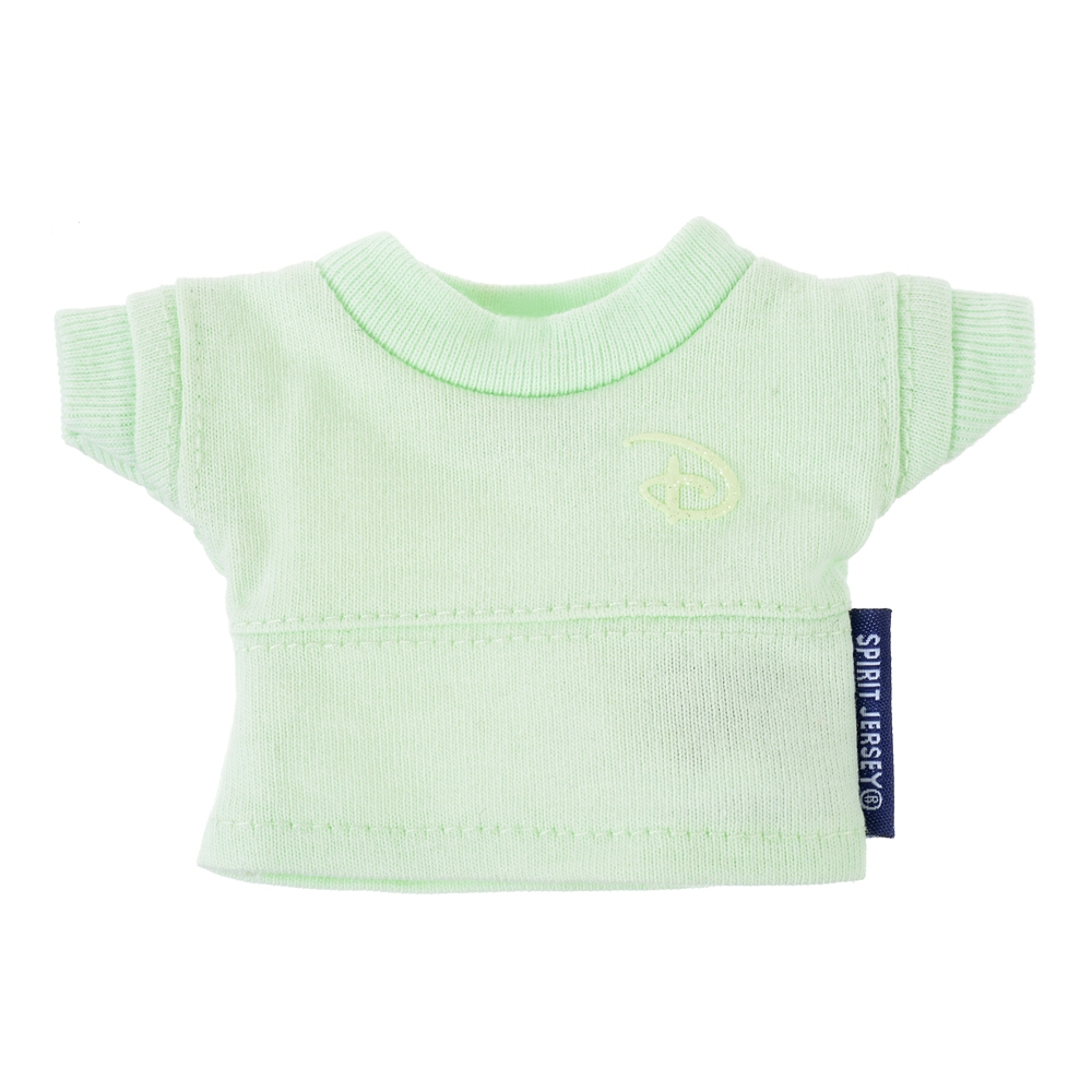 【Spirit Jersey】nuiMOs ぬいぐるみ専用コスチューム 長袖Tシャツ ミント Disneyロゴ