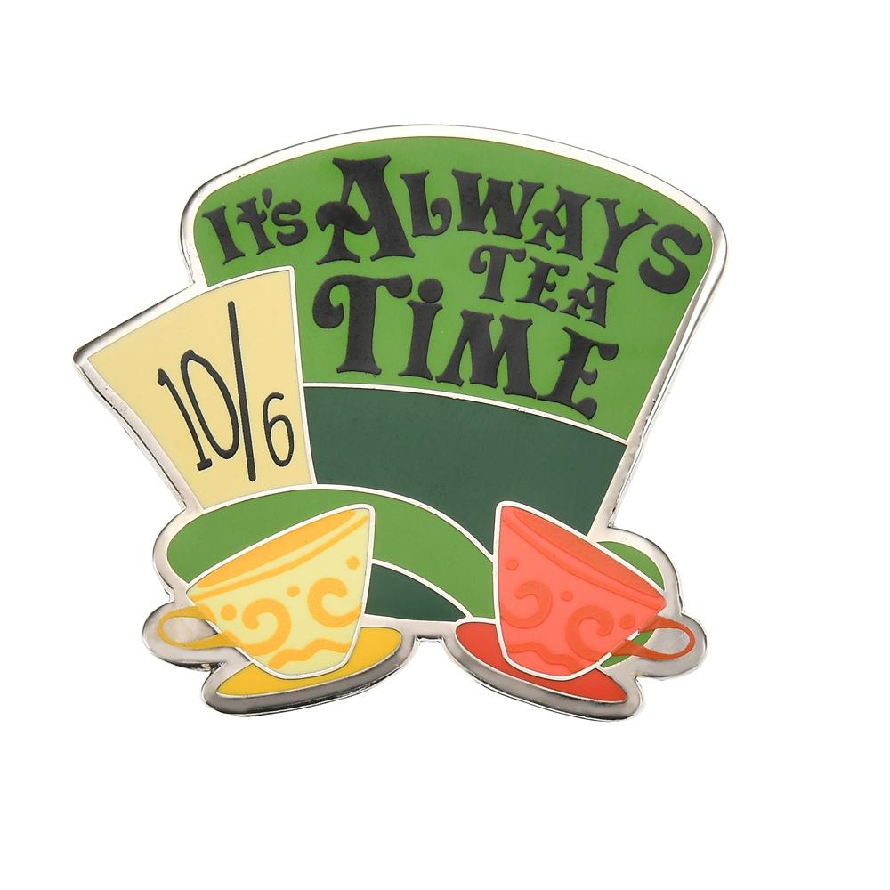 マッドハッター ピンバッジ It's Always Tea Time