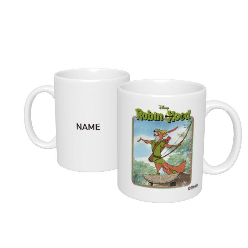 【D-Made】名入れマグカップ  ロビン・フッド アイコン