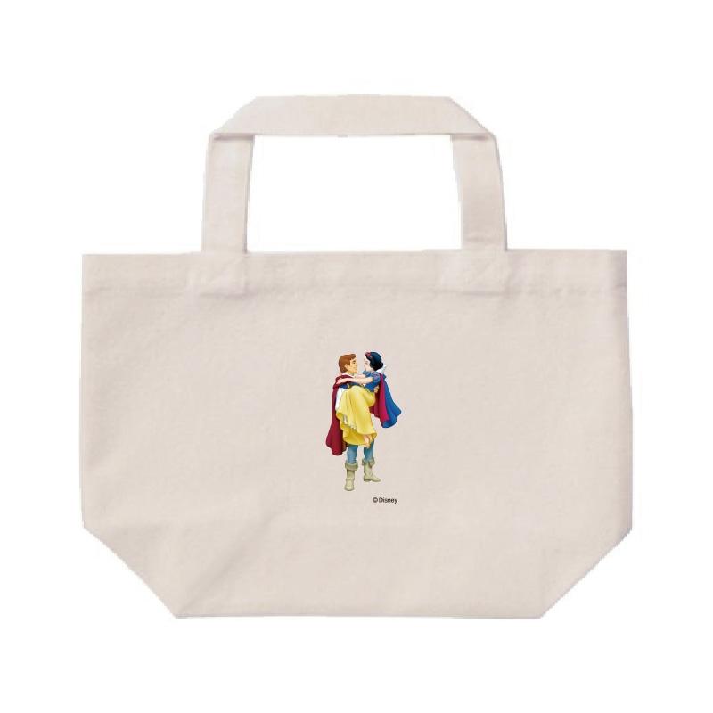 【D-Made】ミニトートバッグ  白雪姫 王子&白雪姫