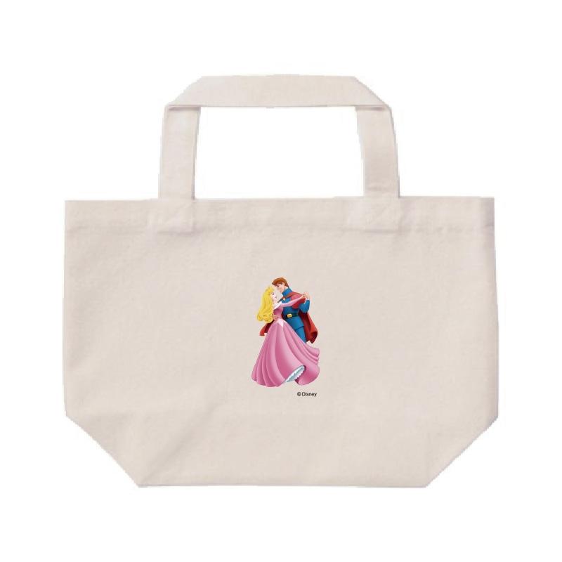 【D-Made】ミニトートバッグ  眠れる森の美女 フィリップ王子&オーロラ姫