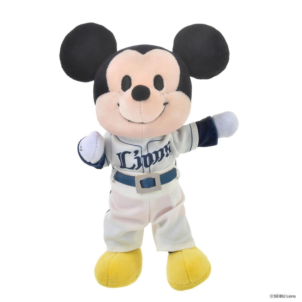nuiMOs ぬいぐるみ専用コスチューム 日本プロ野球ユニフォームセット 埼玉西武ライオンズ
