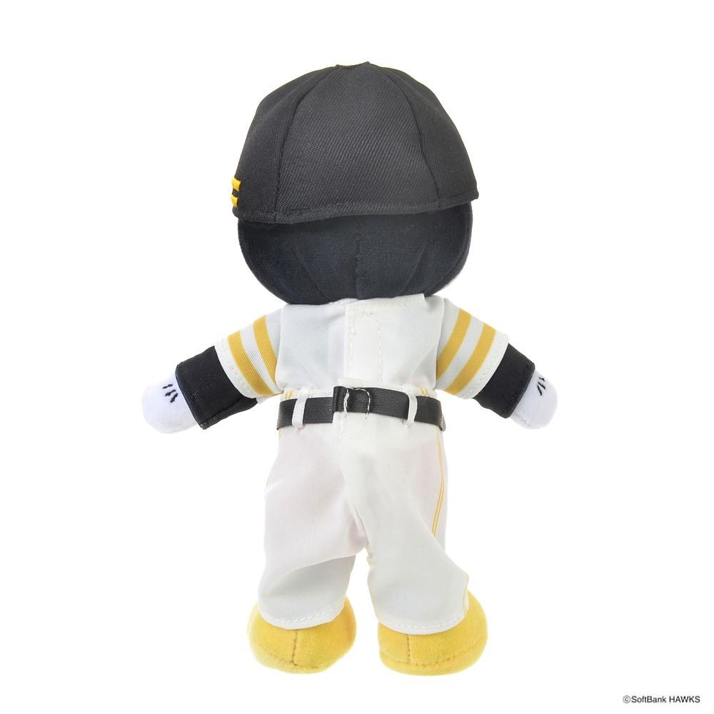nuiMOs ぬいぐるみ専用コスチューム 日本プロ野球ユニフォームセット 福岡ソフトバンクホークス