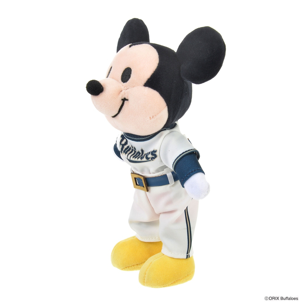 nuiMOs ぬいぐるみ専用コスチューム 日本プロ野球ユニフォームセット オリックス・バファローズ