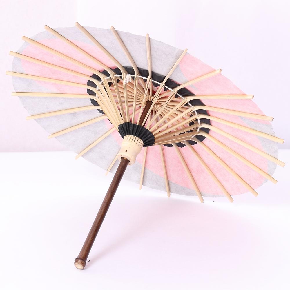 ディズニー/京都伝統工芸 姫和傘 ミッキー月奴/赤