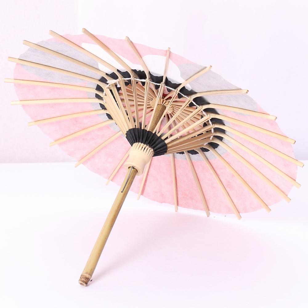 ディズニー/京都伝統工芸 姫和傘 ミニー蛇の目柄