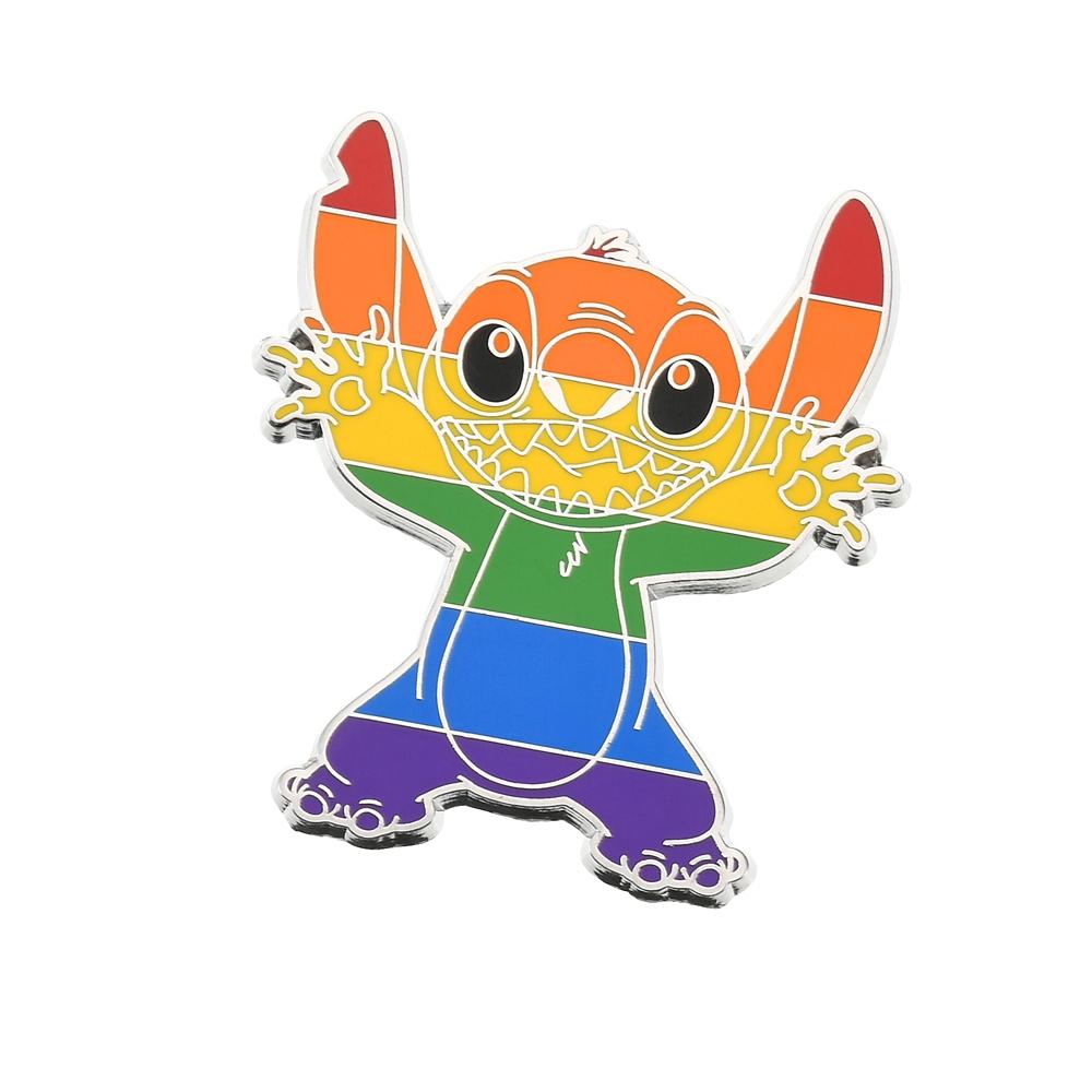 スティッチ ピンバッジ The Walt Disney Company's Pride collection