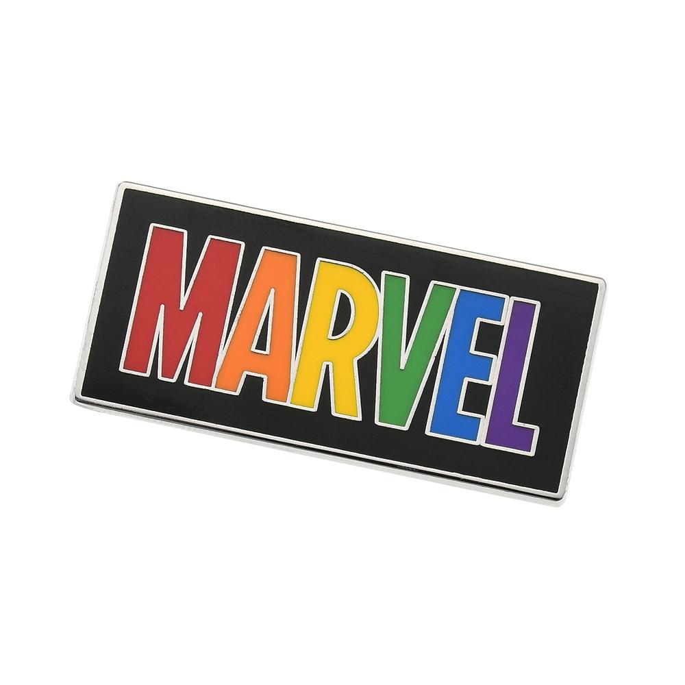 マーベル ピンバッジ ロゴ The Walt Disney Company's Pride collection