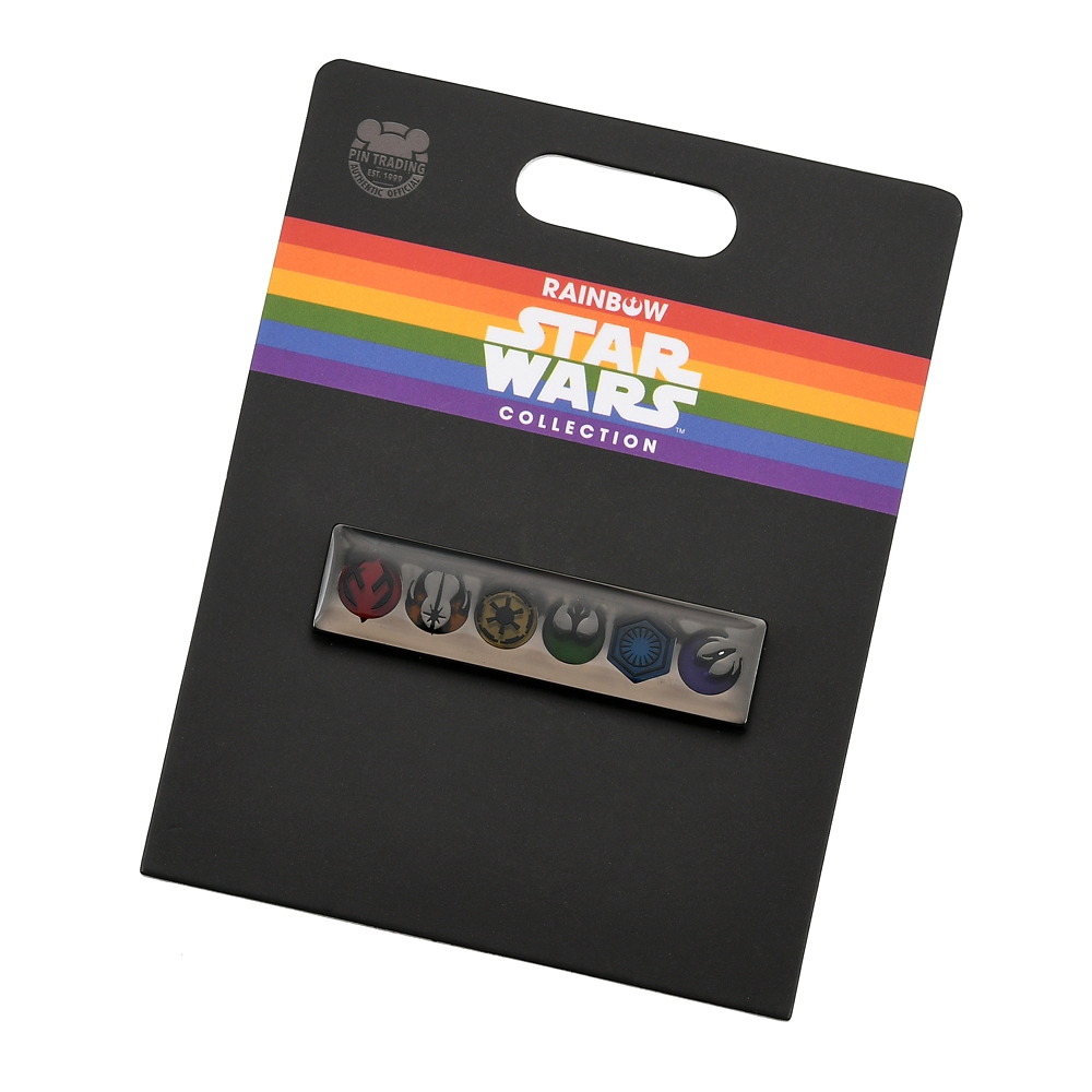 スター・ウォーズ ピンバッジ シンボルマーク The Walt Disney Company's Pride collection