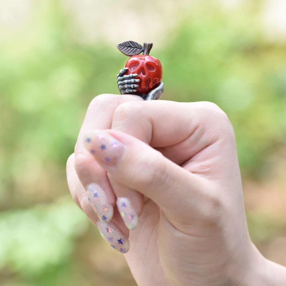 【キューポット】リング/白雪姫毒リンゴ 11号