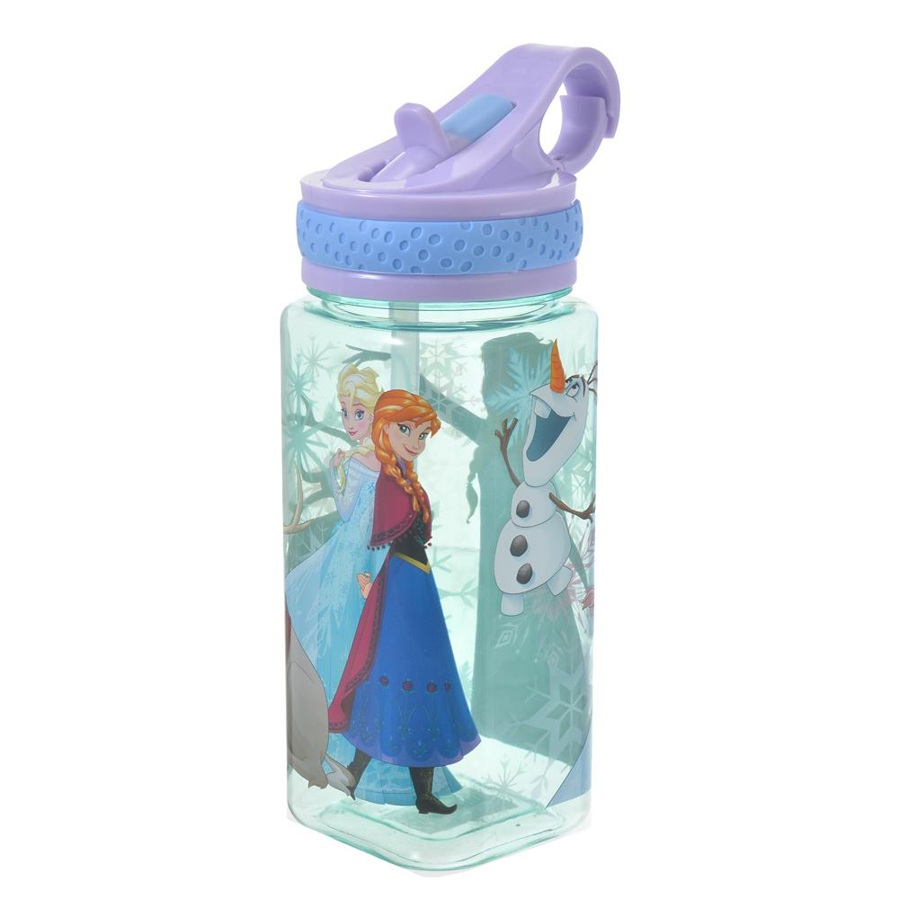 アナと雪の女王 水筒・ウォーターボトル スクエア スノーフレイク