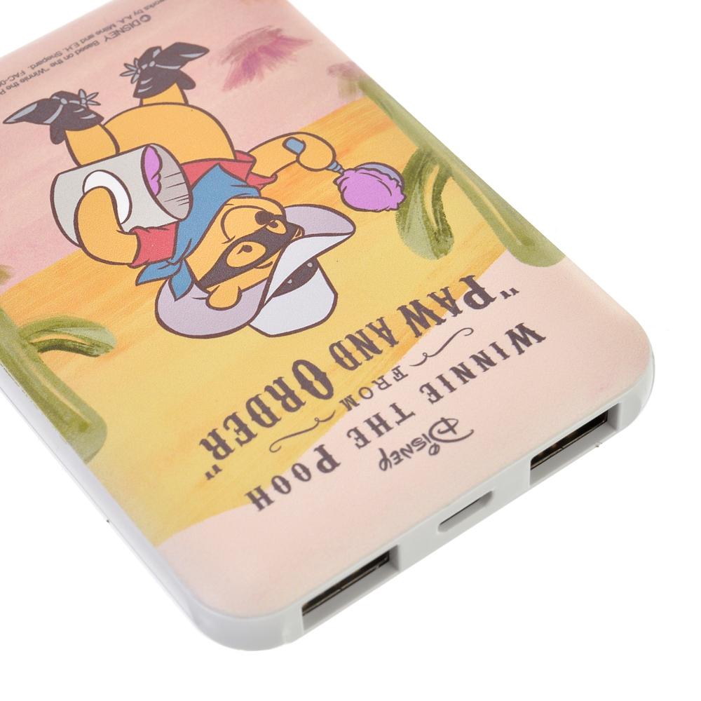 プーさん モバイルバッテリーチャージャー Western Pooh