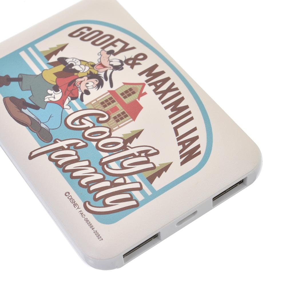 グーフィー&マックス モバイルバッテリーチャージャー Goofy family